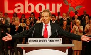 Tony Blair in 2005.