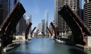 More additions to the phallic parade? … street bridges over the Chicago River.