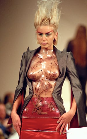 Worming its way into the imagination … Alexander McQueen's 1996 collection The Hunger