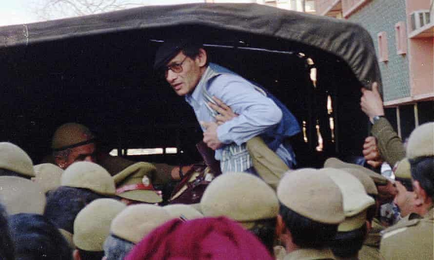 Charles Sobhraj, pictured in 1997, the year he was released after 21 years in a New Delhi jail.
