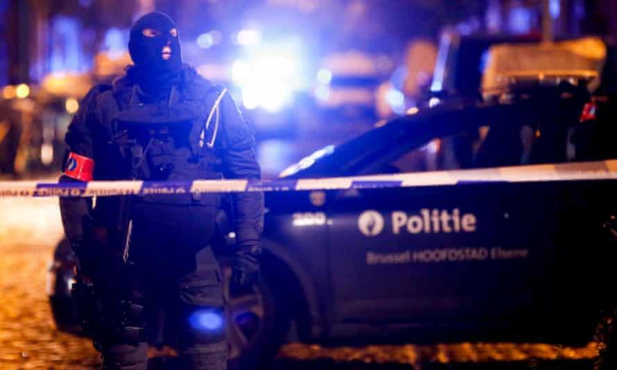 A police operation in Molenbeek