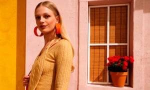 A model in Jacquemus