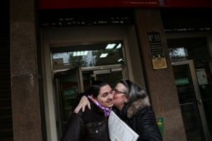 Nov 2016: Gabriel and his mother after getting the civil registry papers that reflect the legal change in his gender and name