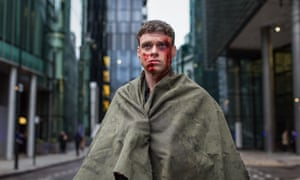 The good guy: Richard Madden playing David Rudd, a character put under severe stress in the season finale.