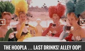 The Hoopla screen shot