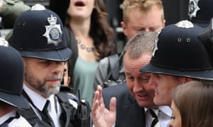 Mike Ashley leaves the Commons