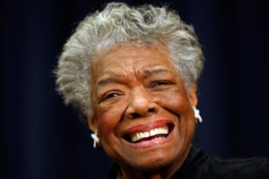 Maya Angelou in 2008.