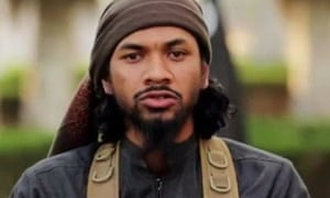 One report has linked the Sri Lanka bomber Abdul Lathief Jameel Mohamed to terror recruiter Neil Prakash, pictured.