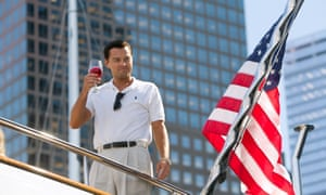 Jordan Belfort from the film 'THE WOLF OF WALL STREET' (2013) Directed By MARTIN SCORSESE 17 December 2013