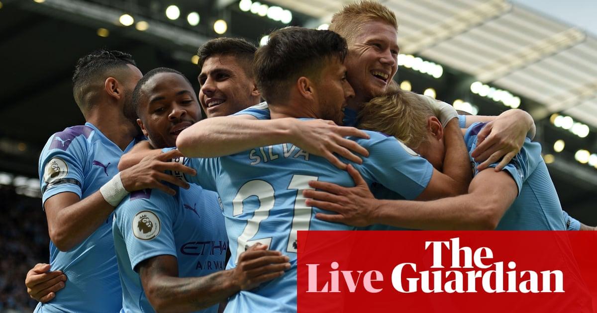 Manchester City v Brighton, Chelsea v Sheffield United and more – live!