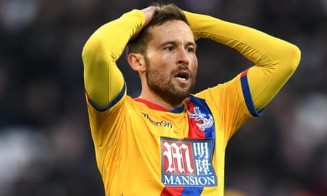 Marseille turn their attentions to Crystal Palace midfielder Yohan Cabaye