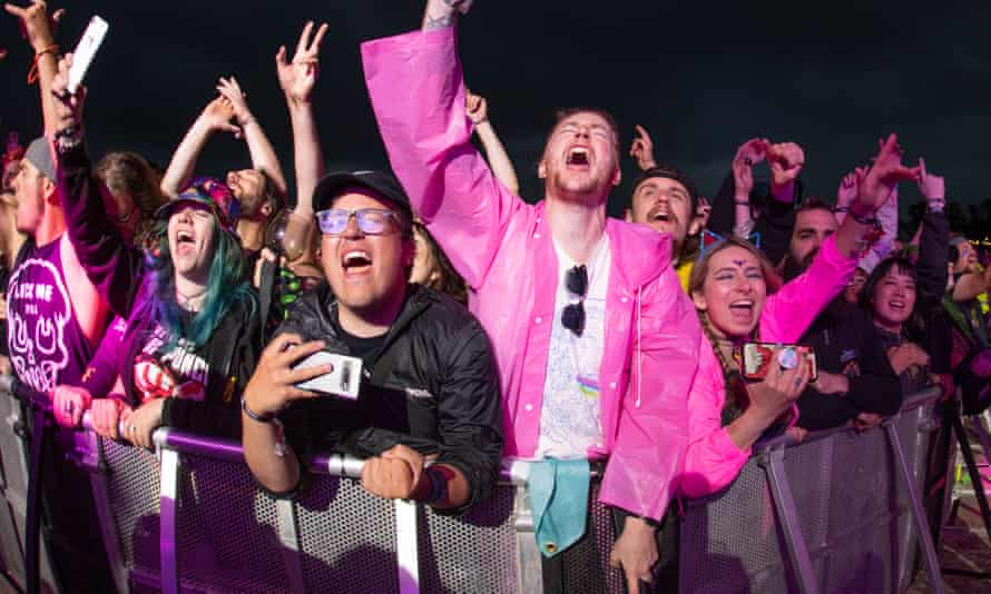 The Download Pilot festival was held last month at Donington Park in Leicestershire
