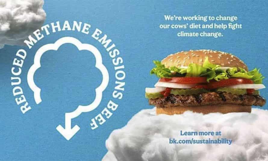 Burger King advert