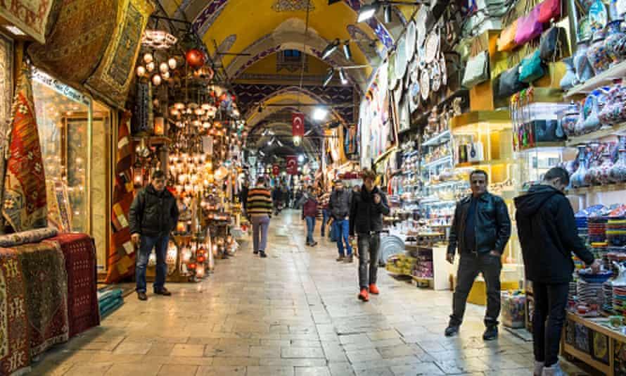 The Grand Bazaar, Istanbul.
