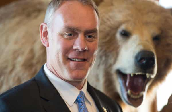 Interior secretary Ryan Zinke has been accused of promoting the hunting industry over conservation.