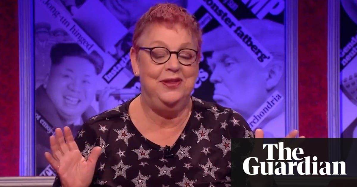 Jo Brand silences all-male panel on Have I Got News for You – video | UK  news | The Guardian