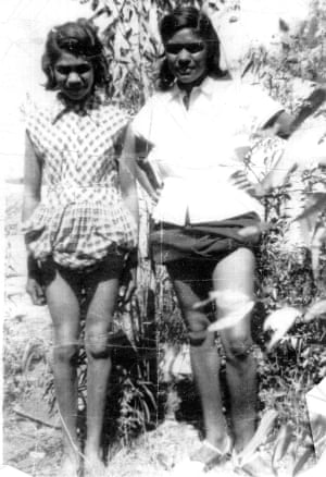 Paul Dutton's Aunty Norma and his mother, Lorraine Dutton.