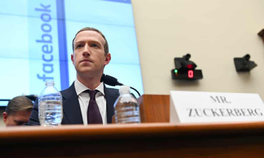 Mark Zuckerberg in October last year at a hearing on Capitol Hill. America's tech behemoths have come to dominate even more of the economy with little if any scrutiny from regulators.