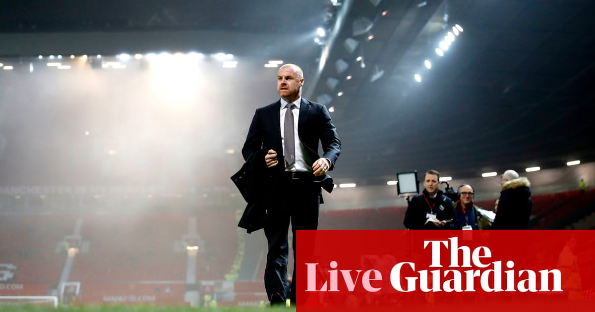 Manchester United v Burnley: Premier League – live!