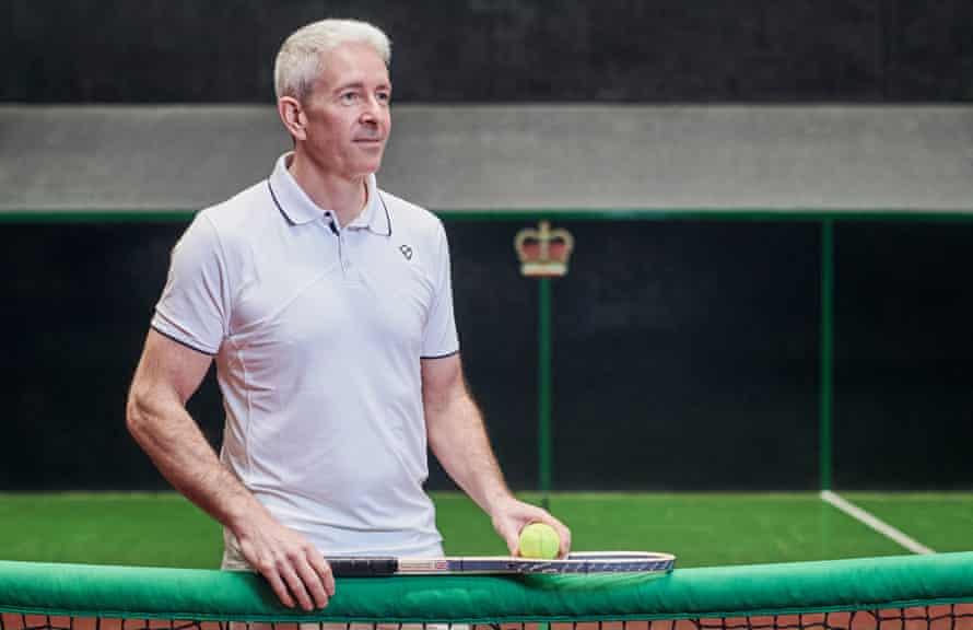 Rob Fahey, real tennis  champion