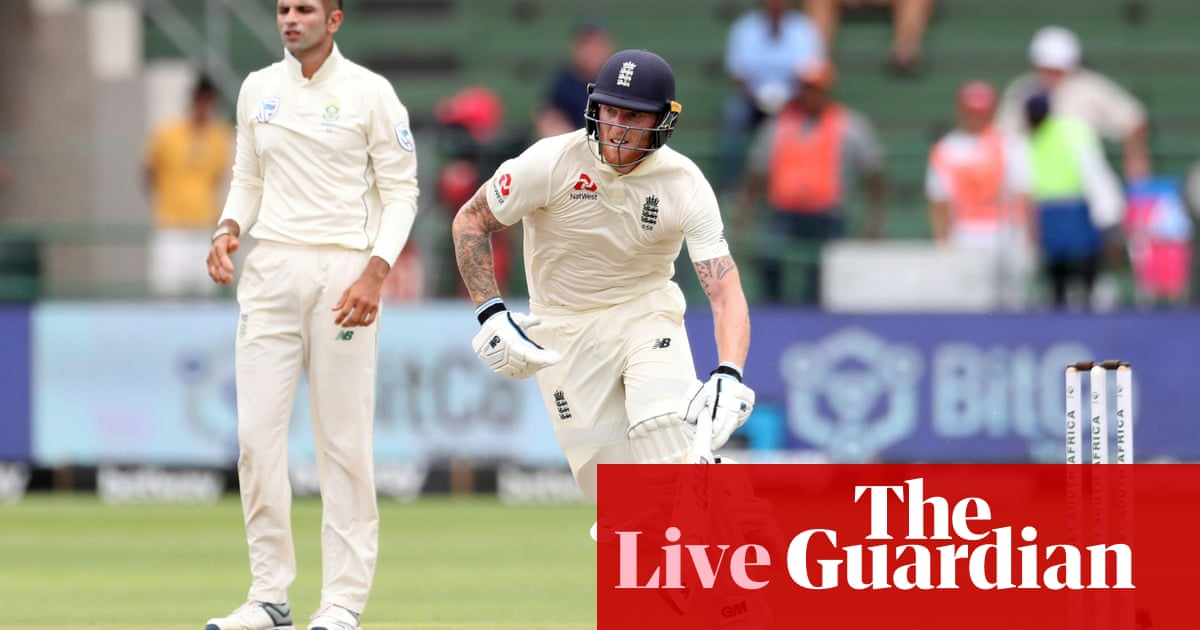 South Africa v England: third Test, day two –live!