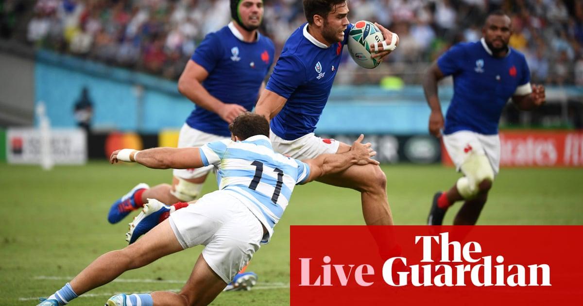 France v Argentina: Rugby World Cup 2019 –live!