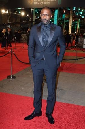 Nation's treasure Idris Elba, nominated for Beasts Of No Nation.