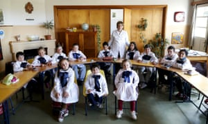 The rural Agustin Ferreira school has just 12 students