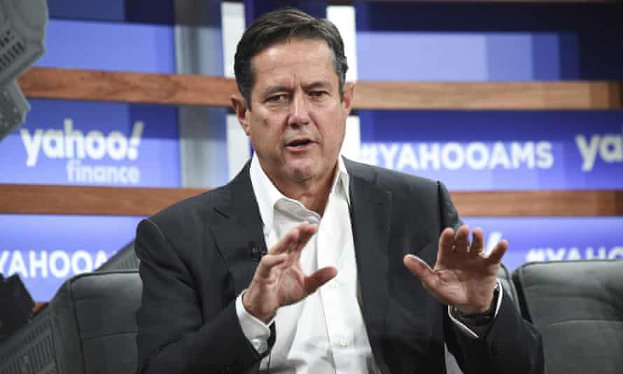 Barclays' CEO Jes Staley.