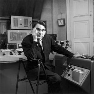 Composer, theorist and writer Pierre Schaeffer, 1961