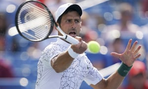 Novak Djokovic was in superb form on Sunday to see off his old rival.