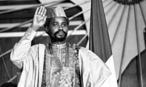 Chad's president Hissène Habré in August 1983