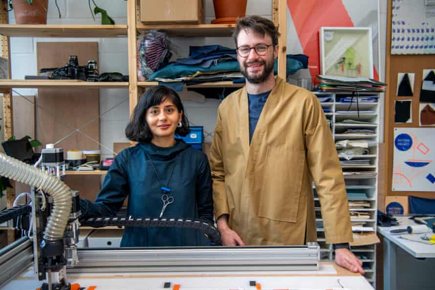 Shruti Grover and Simon Johnson, the founders of Pattern Project
