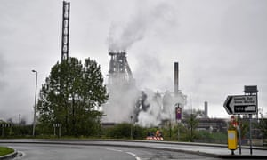 The Tata Steel steel plant in Port Talbot, south Wales, earlier this year.