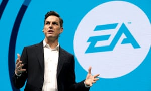 Andrew Wilson, the Electronic Arts CEO
