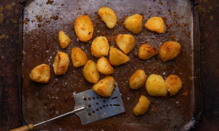 Roast potatoes by Rory O'Connell.