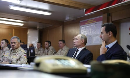 The attack came days after Vladimir Putin visited the Khmeimim airbase.