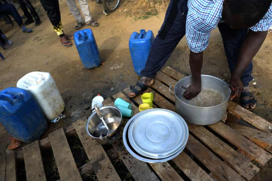 The migrant settlements do not have running water, electricity or adequate sanitation.