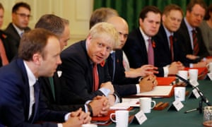 Boris Johnson holds cabinet meeting in Downing Street on Tuesday.