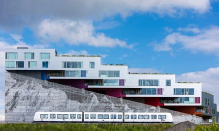 Modern apartments in Copenhagen.