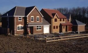 A newbuild house