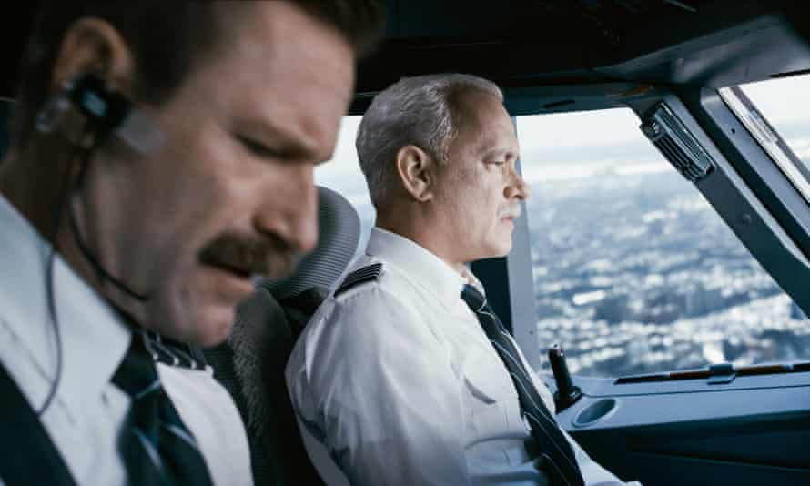 Sully and his co-pilot brace for impact