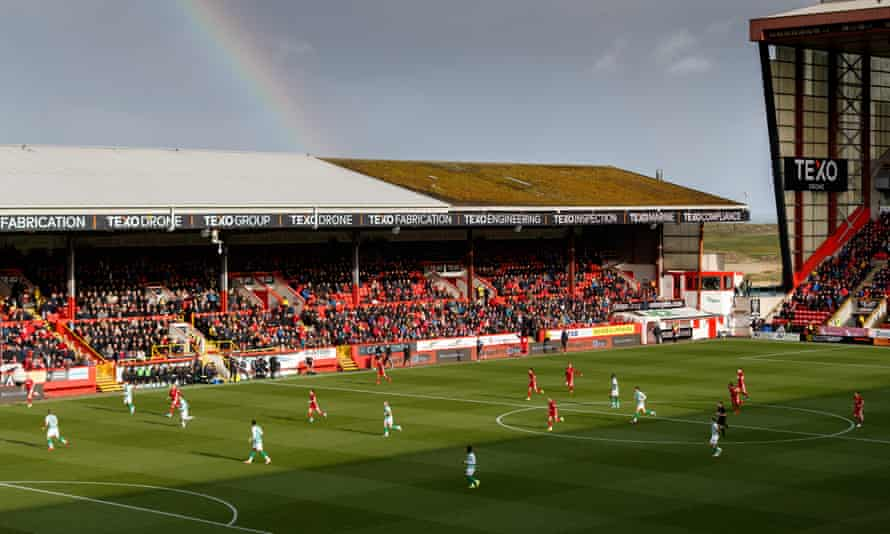 Aberdeen are planning to leave Pittodrie in the coming years