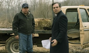 Bill Camp and Mark Ruffalo in Dark Waters.