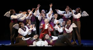 A chorus of Rossinis … with Taylor Stayton's Prince Ramiro.