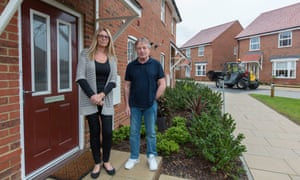 Amanda and Roger Shoesmith who live on the Castle Hill estate.