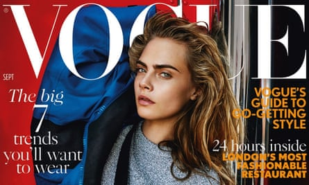 The September issue … Cara Delevingne stars.