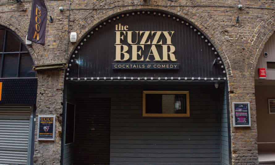 The Fuzzy Bear comedy club in Windsor, England, remains temporarily closed.