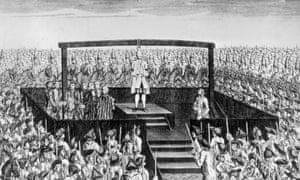 Bad life choices could lead vulnerable young men to the gallows, where they were 'launched into eternity'.