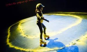 Rachel Mars and Nat Tarrab's play Roller, featuring Sapira Zarum.